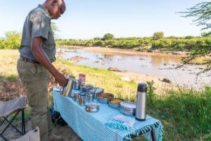lamai serengeti bush breakfast mara river 1
