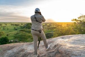 serengeti walking safari wayo sunset