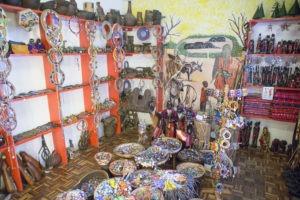 Maasai handicraft at Utamaduni Craft Centre