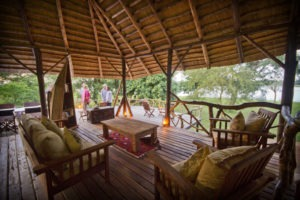 bakers lodge uganda lounge view