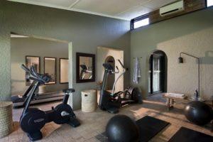 bumi hills safari lodge gym