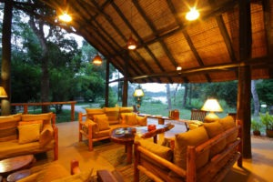 ishasha wilderness camp uganda lounge