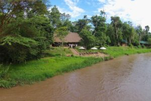 ishasha wilderness camp uganda river