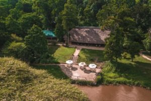 ishasha wilderness camp uganda setting