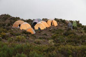 kilimanjaro climbing tents