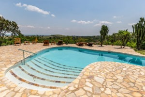 kyambura gorge lodge uganda pool