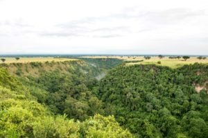 kyambura gorge lodge uganda view