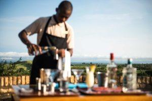 kyambura gorge lodge uganda waiter