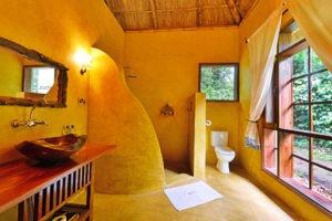 primate lodge kibale luxury bathroom