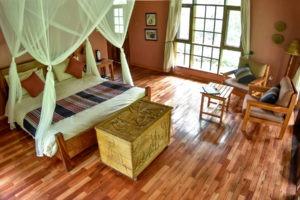 primate lodge kibale luxury interior