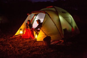 rift valley trekking tanzania tent night