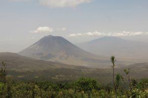 rift valley trekking tanzania view volcanic