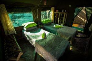 Huab Under Canvas Guest Tent Interior