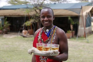 Kicheche Bush Camp waiter