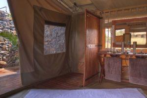 Naboisho Camp bathroom