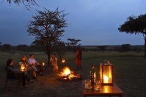 Naboisho Camp campfire