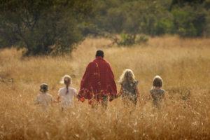 Walking safari with kids Mara Bush Houses